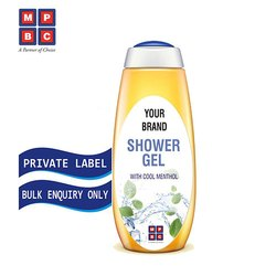 OEM or Private Label Shower Gel With Cool Menthol