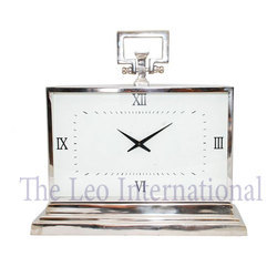 Stainless Steel Table Top Decorative Table Clock
