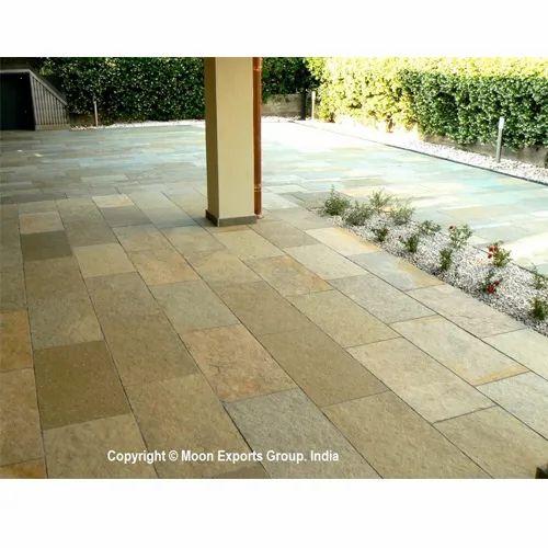 Tandur Yellow Limestone Natural Calibrated Paver