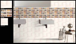 300x450 mm Digital Bathroom Wall Tiles