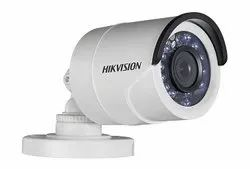 White Hikvision HD 2 MP Bullet Camera, For Outdoor Use