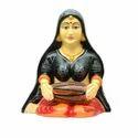 Rajasthani Lady Holding Dholki