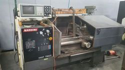 USED & OLD MACHINE - NARDINI FLATBED CNC TURNING MACHINE AVAILABLE IN STOCK