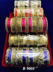Fancy Bridal Metal Bangles