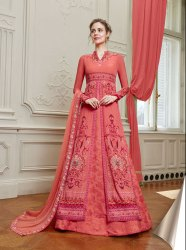 Pr Fashion Launched Beautiful Designer Floor Length Suit