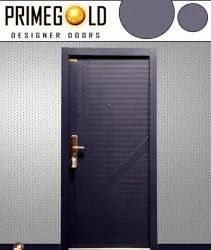 Black Steel Safety Door, For Residential, Thickness: 70 Mm