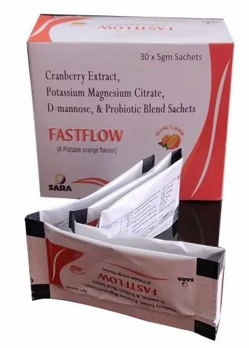 Cranberry Extract Potassium Magnesium Citrate D Mannose And Probiotic Blend Sachets