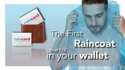 Pocket Raincoat Credit Card Sized