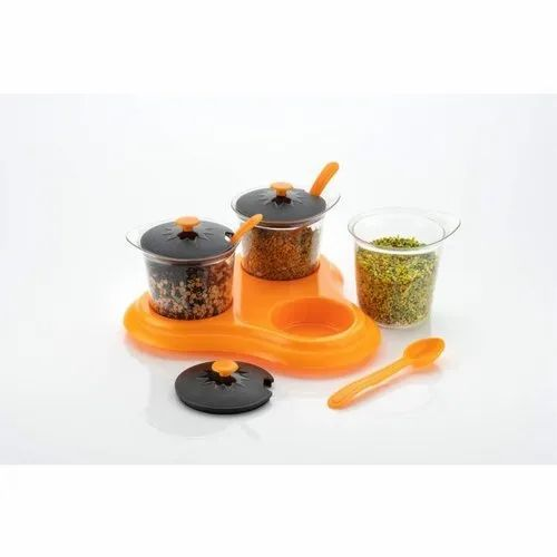 ABS Masala And Pickle Container Box
