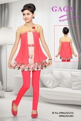 Rayon Zero Girl's Leggings Set, Size: 26-34
