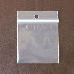 Zip Lock Hang Hole Bag