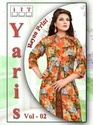 Women's Yaris Designer Wear Kurti