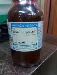 Silver  Nitrate  AR  STC  PKG. 25 GM