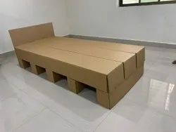 Corrugated, Cardboard Bed