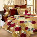 Cotton Floral Printed Bed Sheets