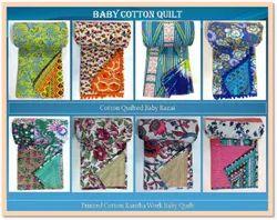 Handmade Cotton Baby Quilt Razai