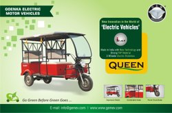 GEM Battery Operated Electric E-Rickshaw