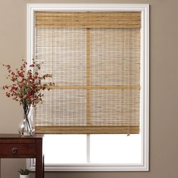 Window Bamboo Grill Chick Blind