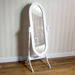 Acrylic Free Standing Mirror