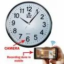 Sandisk 10 To 15 M Analog Wall Clock Camera With Built In 64 Gb Memory Card, Ccd