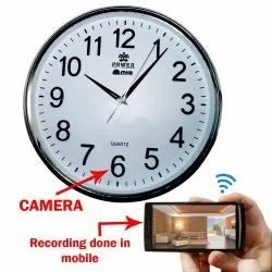 SanDisk 4K Analog Wall Clock Camera With Built in 128 GB Memory Card