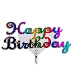 Birthday Cake Plastic Topper