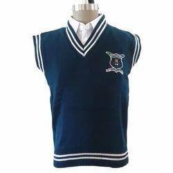 Kids Sleeveless School Sweater