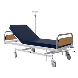 Icu Beds - (Icu - 204) - Collapsible Handle For Backrest Icu Bed