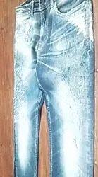 Printed Denim Jeans