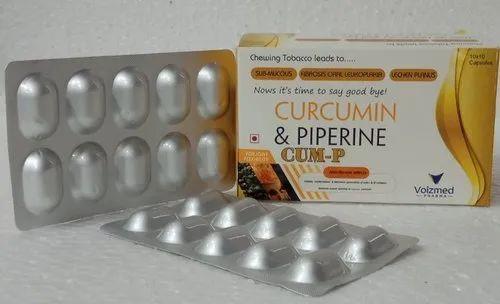 Curcumin and Piperine Capsules