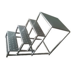 Welded type Stainless Steel Stair case, Number Of Steps: Three Steps
