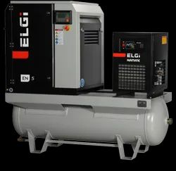 ELGi EN -5 Electric Lubricated Screw Compressor