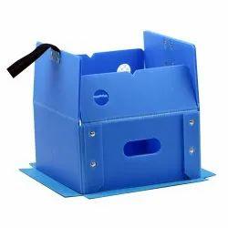 Folding Polypropylene Box
