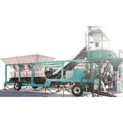 Pan Mixer Type RMC Concrete Plant