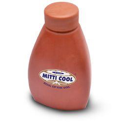 Earthen Clay Water Bottle