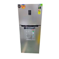 3 Star Refined Inox 394 L Samsung Refrigerator, Top Mount Freezer
