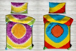 Ombre Mandala Printed Cotton Single Size Duvet Cover
