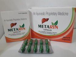 Metarin Capsules, Packaging Type: Blisters