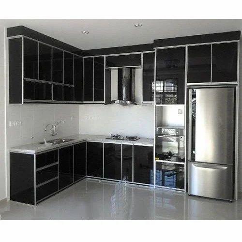 Modern Aluminium Kitchen Cabinet Rs 1500 Square Feet S F