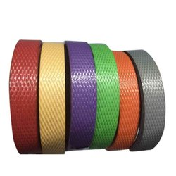 Plain Polypropylene PP Box Strapping Strip, Packaging Type: Roll