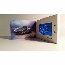 Art Paper Landscape 7 Inch Video Brochures, Size: A5