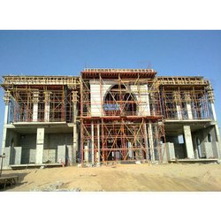Concrete Frame Structures Villa Building Construction Service