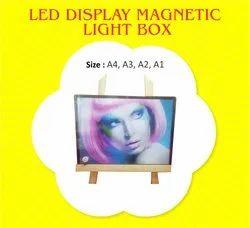 LED Display Magnetic Light Box