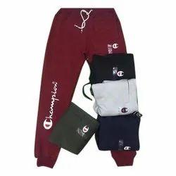 Slim Fit Printed Men Cotton Trouser