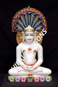 Lord Parasnath Marble Statue