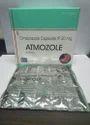 Omeprazole Magnesium Ip 20 Mg Atmozole Capsule, Grade Standard: Medicine Grade, Packaging Type: Box