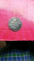 British India Coin Year 1897