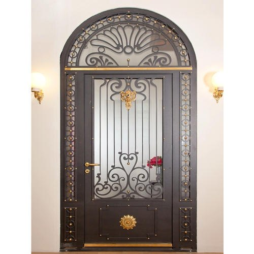Main Entrance Door Grill: Iron Black Door Grill At Rs 260 /square Feet