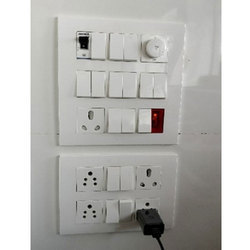 White Legrand Electric Switch