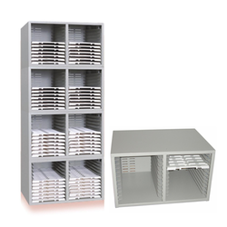 Microslide Cabinet Flat Manner